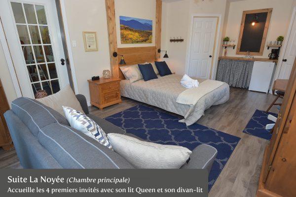 Suite La Noyée (Chambre principale)